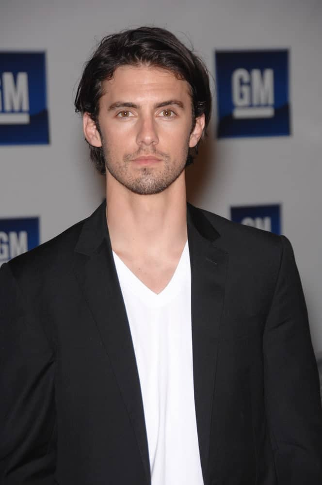 Milo Ventimiglia exhibited his tousled wavy hair during the 2007 GM Ten Fashion Show Gala at Paramount Studios, Hollywood last February 21st.