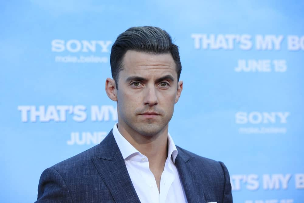 Milo Ventimiglia went for a classic look featuring a pompadour hairstyle at the premiere of Columbia Pictures' 'That's My Boy' held on June 4, 2012.