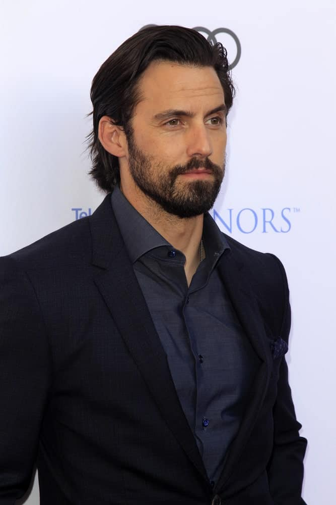 The actor attended the 10th Annual Television Academy Honors at the Montage Hotel on June 8, 2017 with his luscious side-parted hair paired with a full beard.