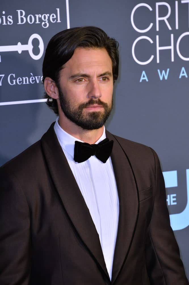 The actor looked gorgeous in a classic black suit complemented with his wavy side-parted hair and a full beard. This was taken at the 4th Annual Critics' Choice Awards in Santa Monica last January 13, 2019.