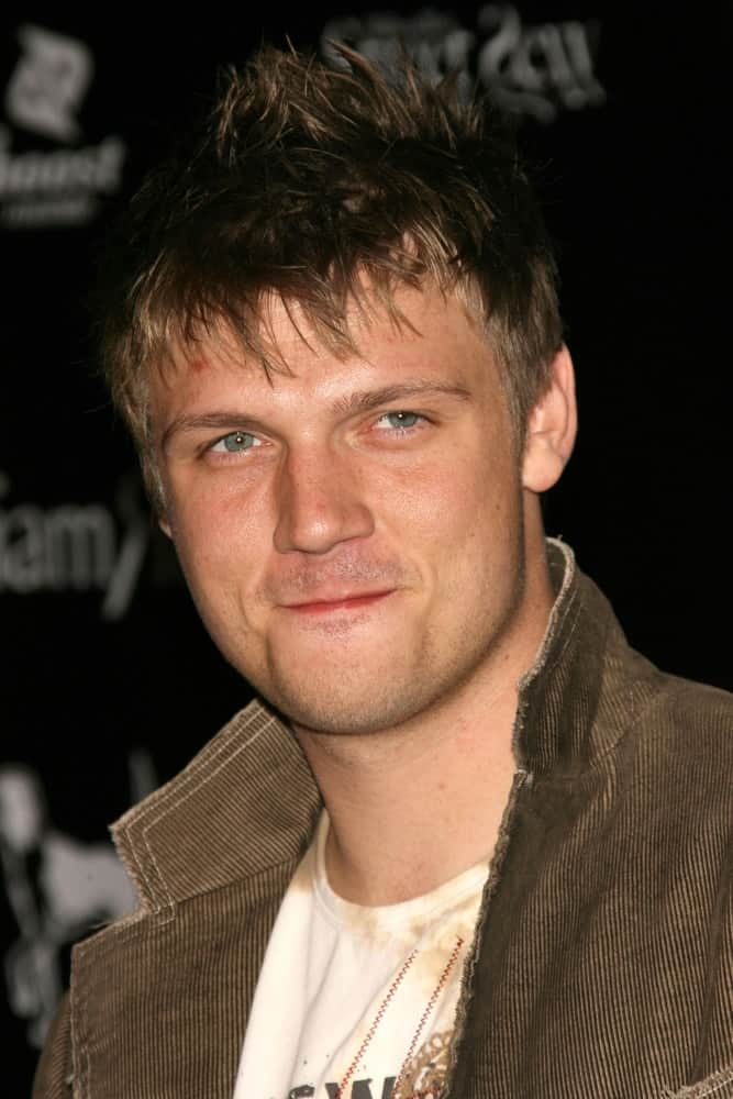Nick Carter at the William Rast Spring 2007