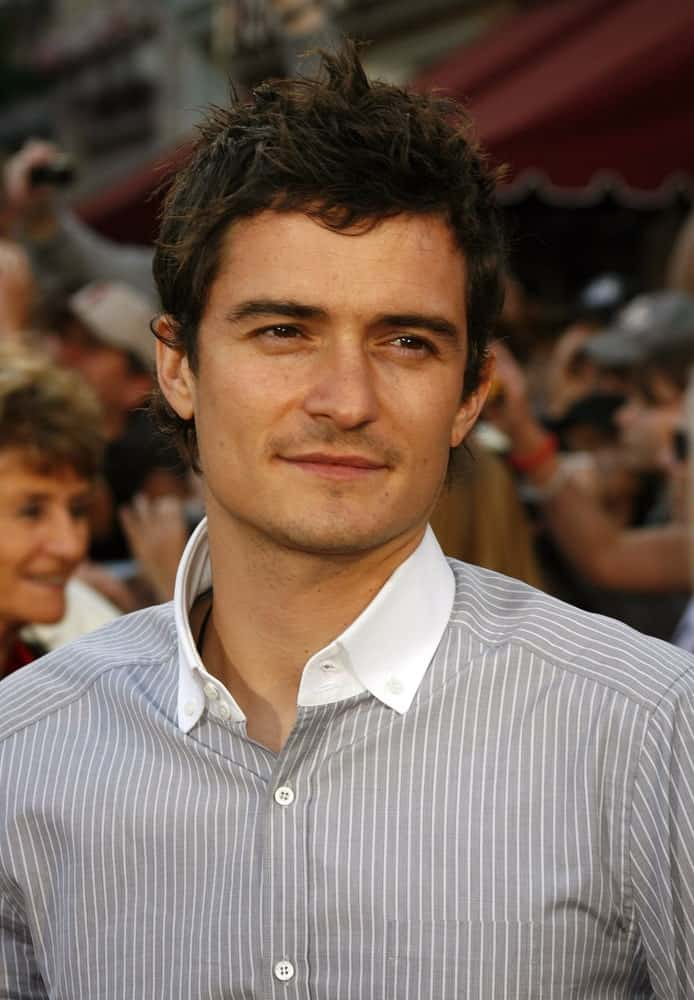 Orlando Bloom attended the World Premiere of