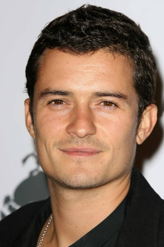 Orlando Bloom at a party to introduce the Trump Tower Dubai at The Tar Estate, Bel Air, CA in 2008.