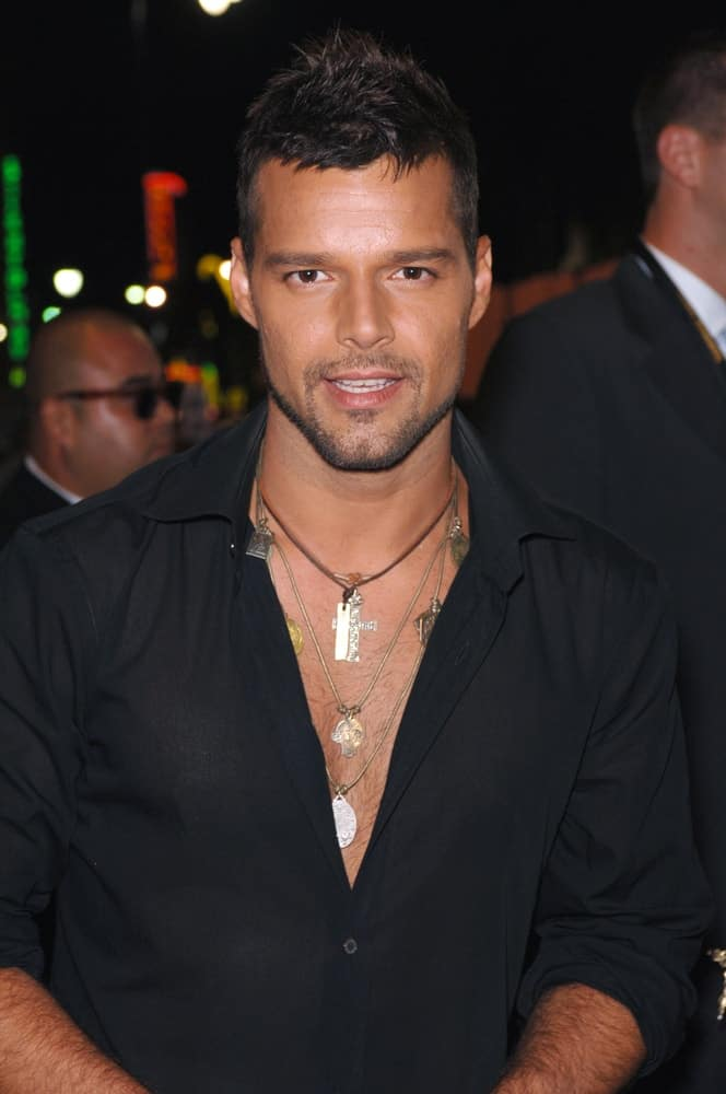 Singer Ricky Martin at the 2005 World Music Awards at the Kodak Theatre, Hollywood, CA. August 31, 2005 Los Angeles, CA.