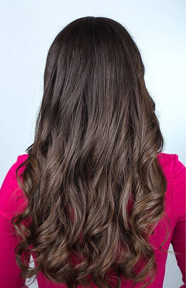 Step 1: Brush Hair