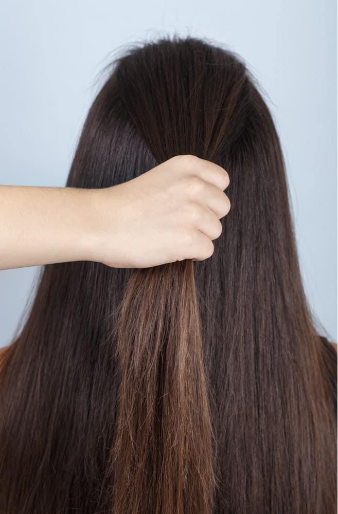 Step 1: Gather Hair