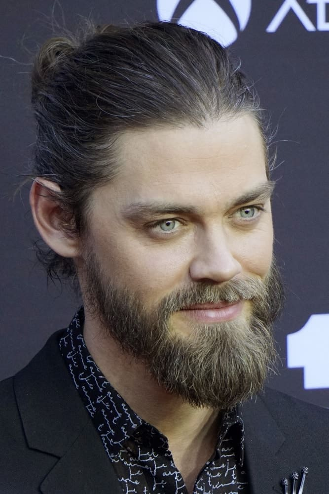Tom Payne during October 22, 2017 at the