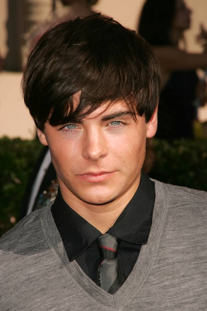 Zac Efron at the 58th Annual Creative Arts Emmy Awards on August 19, 2006 at Shrine Auditorium in Los Angeles, CA.