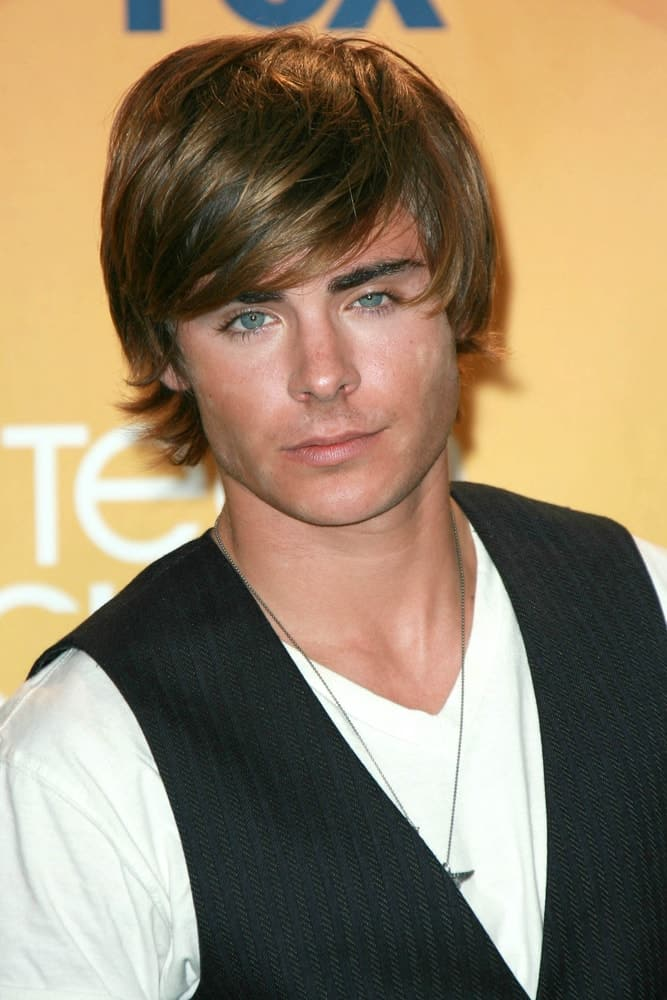 Zac Efron in the press room of the 2007 Teen Choice Awards. Gibson Amphitheater, Universal City, CA.