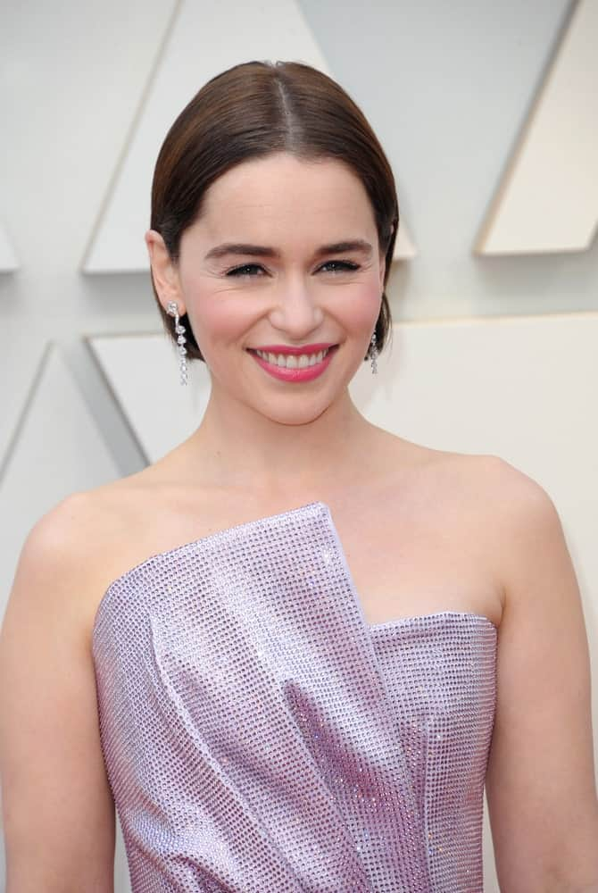 Emilia Clarke at the 91st Annual Academy Awards held at the Hollywood and Highland in Los Angeles, USA on February 24, 2019.