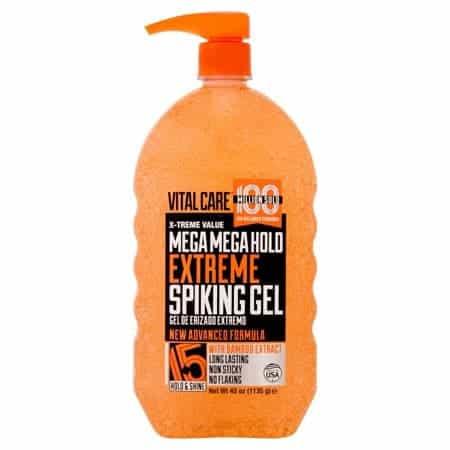 Extreme hold hair gel
