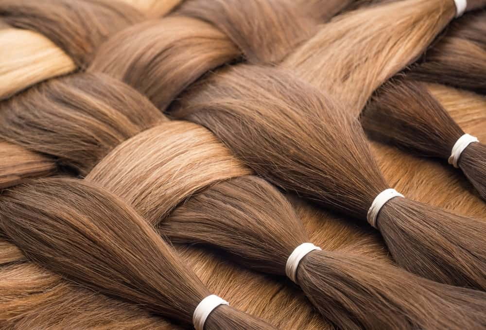 Woven hair extensions