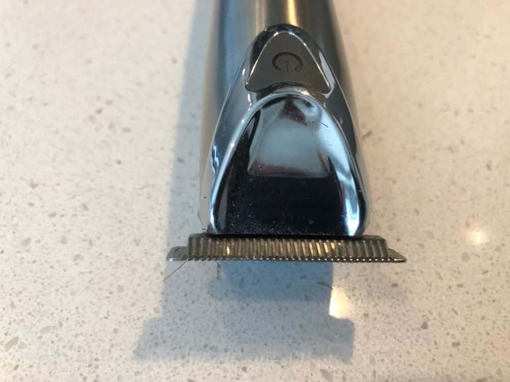 Teeth of the Wahl beard trimmer