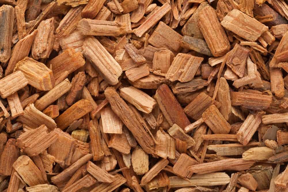 Organic Himalayan Cedar chips.